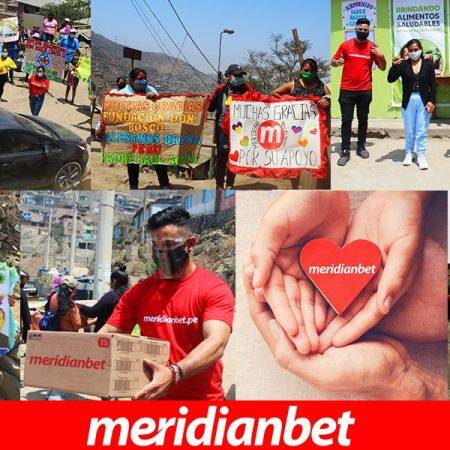 ¡MERIDIANBET LLEVÓ AYUDA JUNTO A LA FUNDACIÓN DON BOSCO!