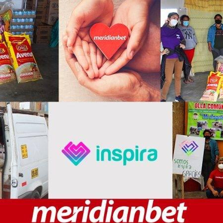 ¡MERIDIANBET BRINDÓ AYUDA JUNTO A LA FUNDACIÓN SOMOS INSPIRA!
