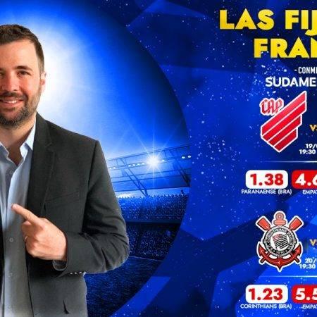 Copa Sudamericana: pronósticos por Franco Lostaunau