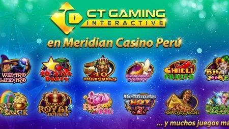 ¡CT Gaming une fuerzas junto a Meridian Casino!