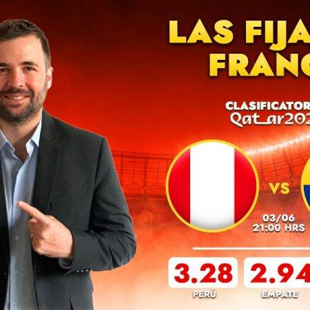 Pronóstico Perú vs Colombia: las fijas de Franco Lostaunau