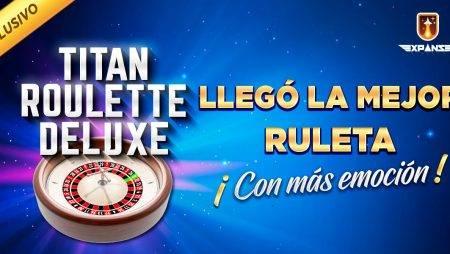 Titan Roulette Deluxe: Vive una verdadera experiencia de lujo