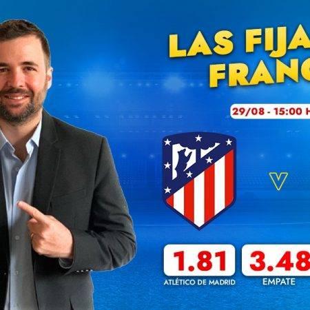 Las fijas del Atlético Madrid vs Villarreal, por Franco Lostaunau