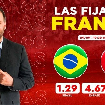 Las fijas del Brasil vs Perú: pronóstico por Franco Lostaunau