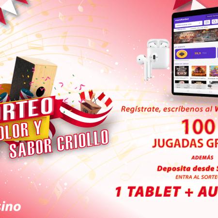 ¡Gana 100 jugadas gratis y fabulosos premios en Meridian Casino!