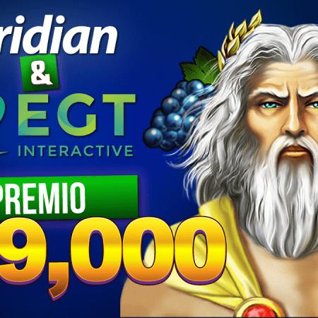 """""""¡En octubre, gana hasta 7000 soles en efectivo con Meridian Casino!"""""""