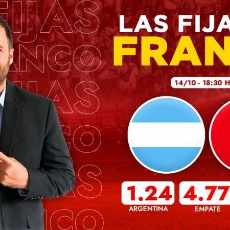 Pronóstico Perú vs Argentina Eliminatorias Qatar 2022: las fijas de Franco Lostaunau